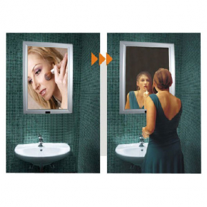 Led magic mirror slim advertising light box